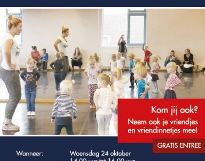 24 oktober: Kindervakantiemiddag!